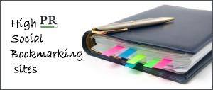 High PR Social Bookmarking sites