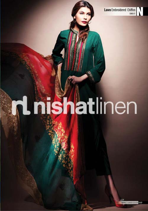 Nishat Linen Spring Summer Collection 2013