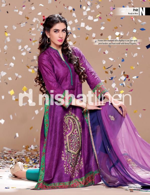 Nishat Eid Collection 2013- Pret