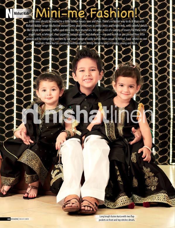 Nishat Kids Eid Collection 2013