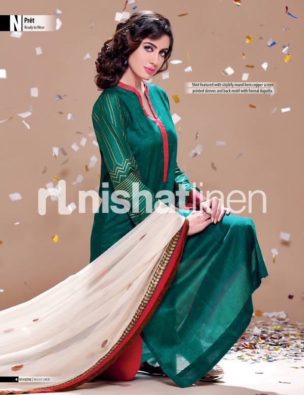 Nishat Eid Collection 2013- Pret