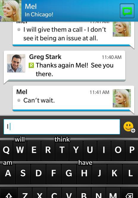 BlackBerry Messenger for iOS Review