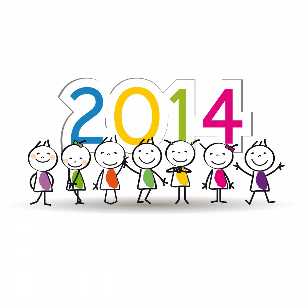 New Year Greetings and Calendars 2014